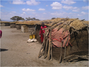Ilkangere Village in Amboseli National Park