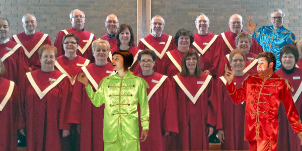 Beatlemania Choir October 2014