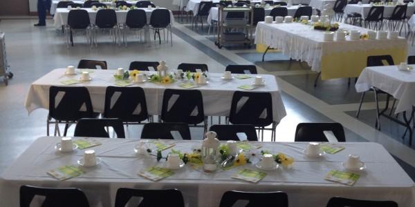 Fellowhsip Hall tables set
