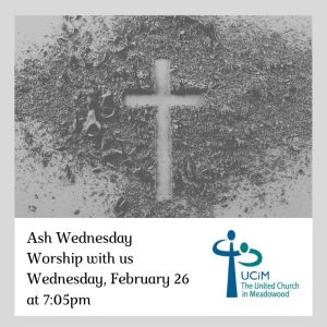 Ash Wednesday @ United Church in Meadowood | Winnipeg | Manitoba | Canada