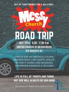 Messy Church - Road Trip @ United Church in Meadowood